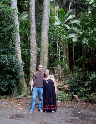 Colin & Mo at Wollumbin
