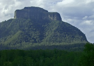 Mt Lindesay viewed from New South Wales