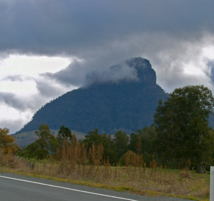 Mt LIndesay viewed from Queensland side