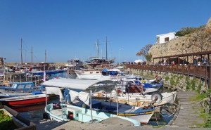 Boats on Kyrenia Harbour