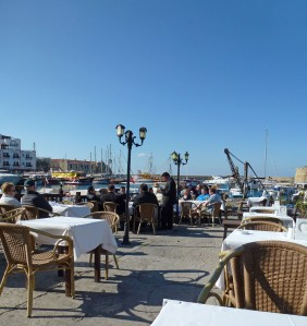 Cafe on Kyrenia Harbour