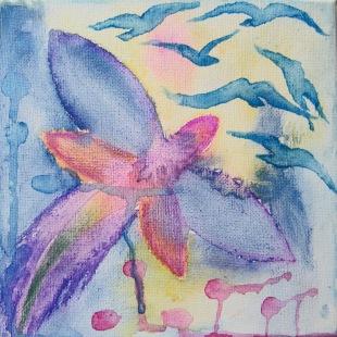 Dragonfly & Birds