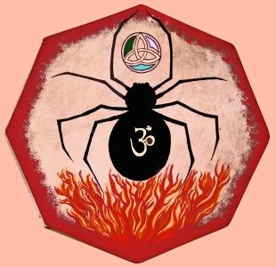 Spider Totem Personal Drum