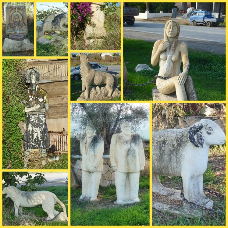 Statues - Collage