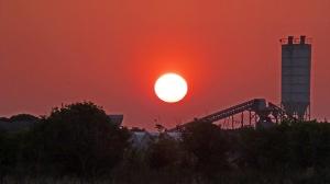 Sunset over Alsancak