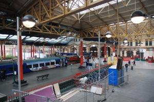 Platform area, Victoria Station, Manchester