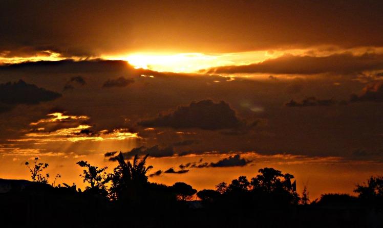 Sunset 5th Sept 2014