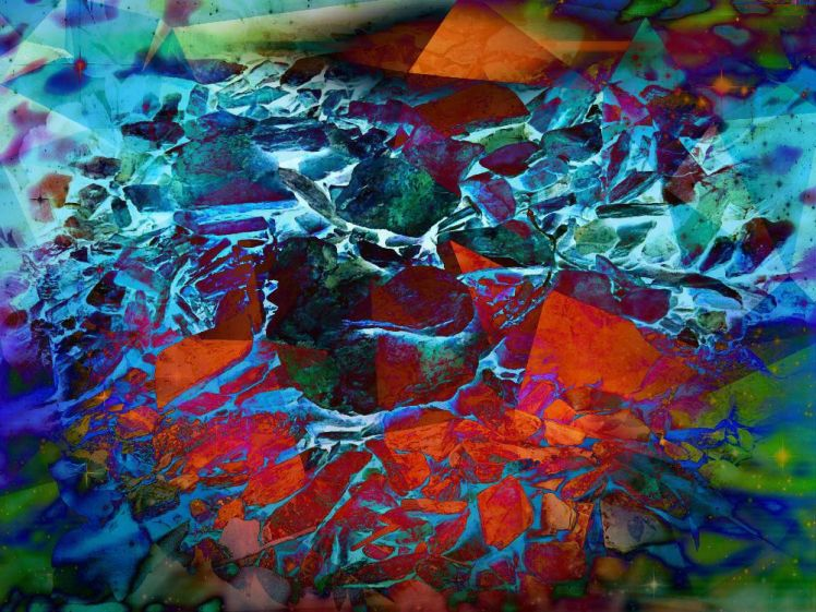 BlueRocks - fire of creation