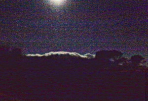 Full Moon, Cloud over Besparmak