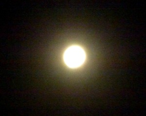 Full Moon Eclipse 3 Oct 2014