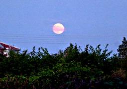 Full Moon Eclipse Oct 2014