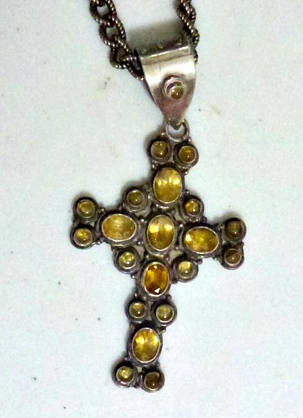 Citrine Cross