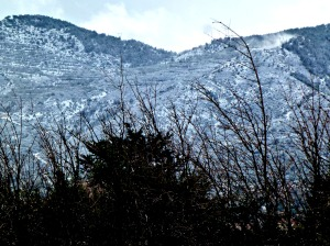 Snow on Besparmaks, Feb 2015 2 - Copy
