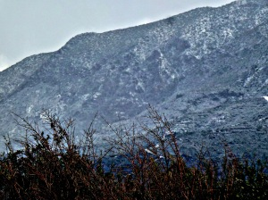 Snow on Besparmaks, Feb 2015 3 - Copy
