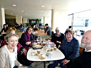 Reunion, Royal Festival Hall coffee shop