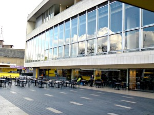 Royal Festival Hall, Outside Coffee area
