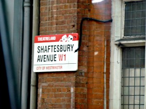 Shaftesbury Avenue Theatreland