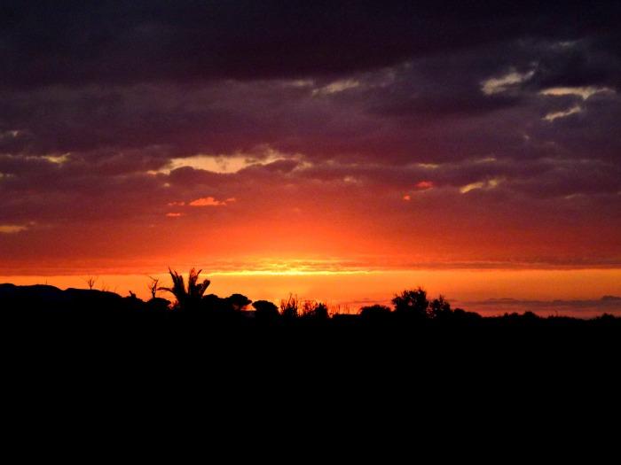 Sunset, April 5, 2014