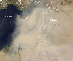 Cyprus dust storm 1