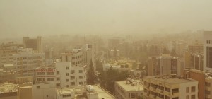 Cyprus Dust Storm