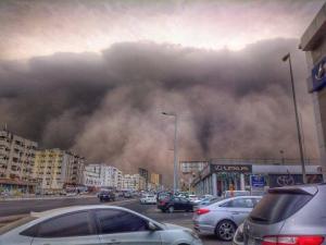 Jeddah sandstorm