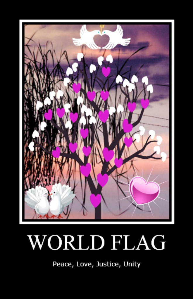 World Flag Poster