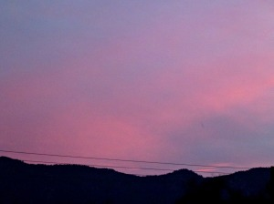 Pink Sunset 3, 16th Nov 2015