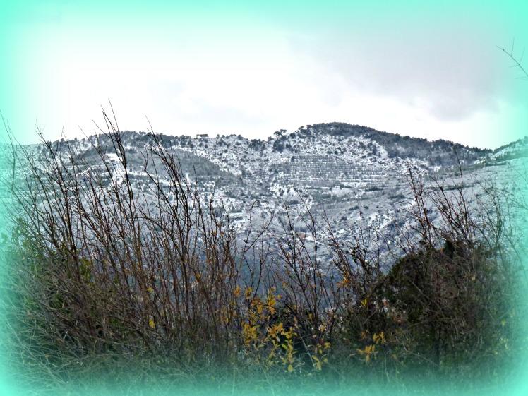 Snow on Besparmaks, Jan 2016 2