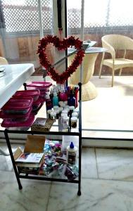 Arty-farty gear & Valentine's heart