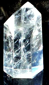 Clear quartz point 1 - my first stone spirit