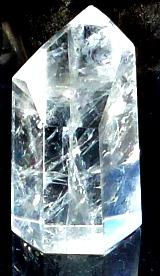 Clear quartz point 1 - my first stone spirit