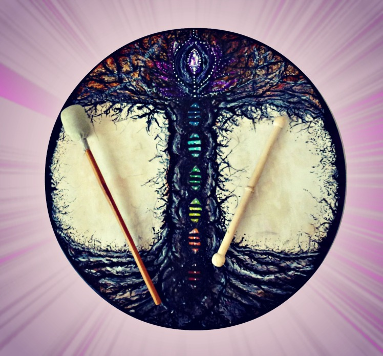 Bodhran Drum & Sticks