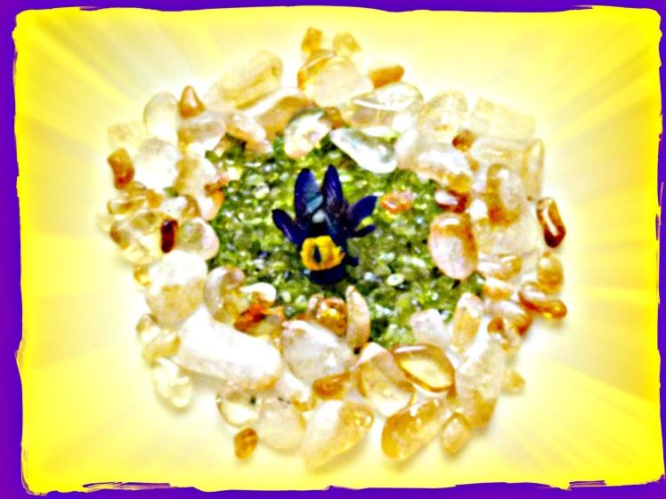 Honeybee mandala